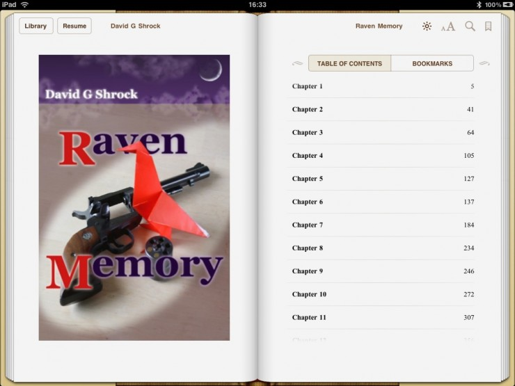 """screenshot of contents page in iBooks"""
