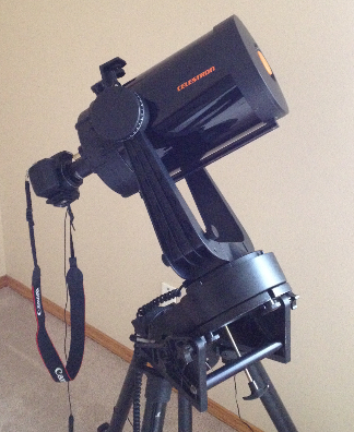 """Celestron C-8 telescope with camera"""
