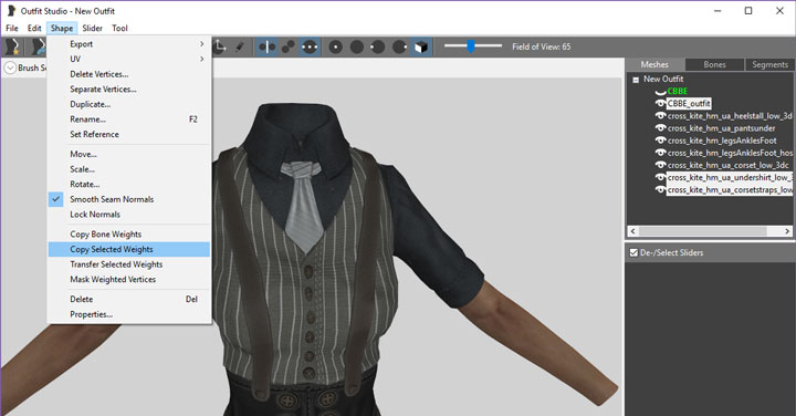 FO4 CBBE Outfit With Cloth Physics