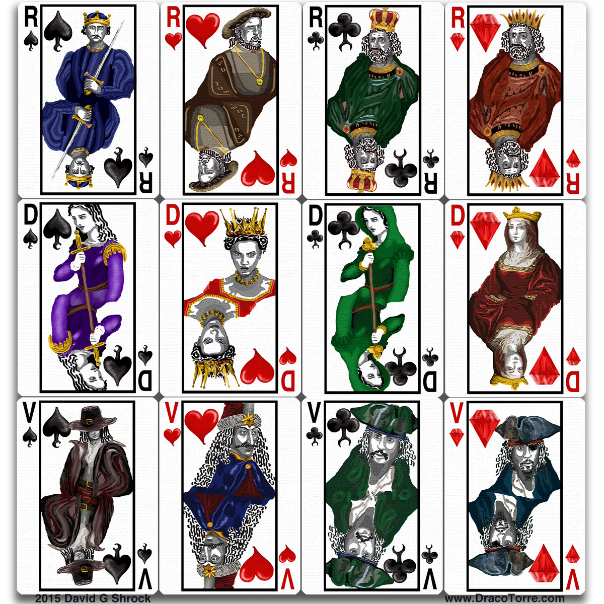 100 Playing Card Designs Cards ArtThe
