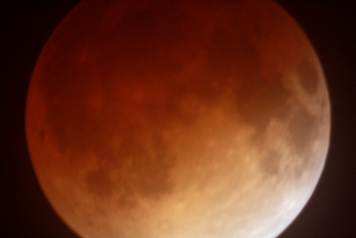 """lunar eclipse in telescope 2"""